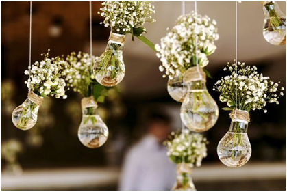 Wedding Decorate by Bulbs